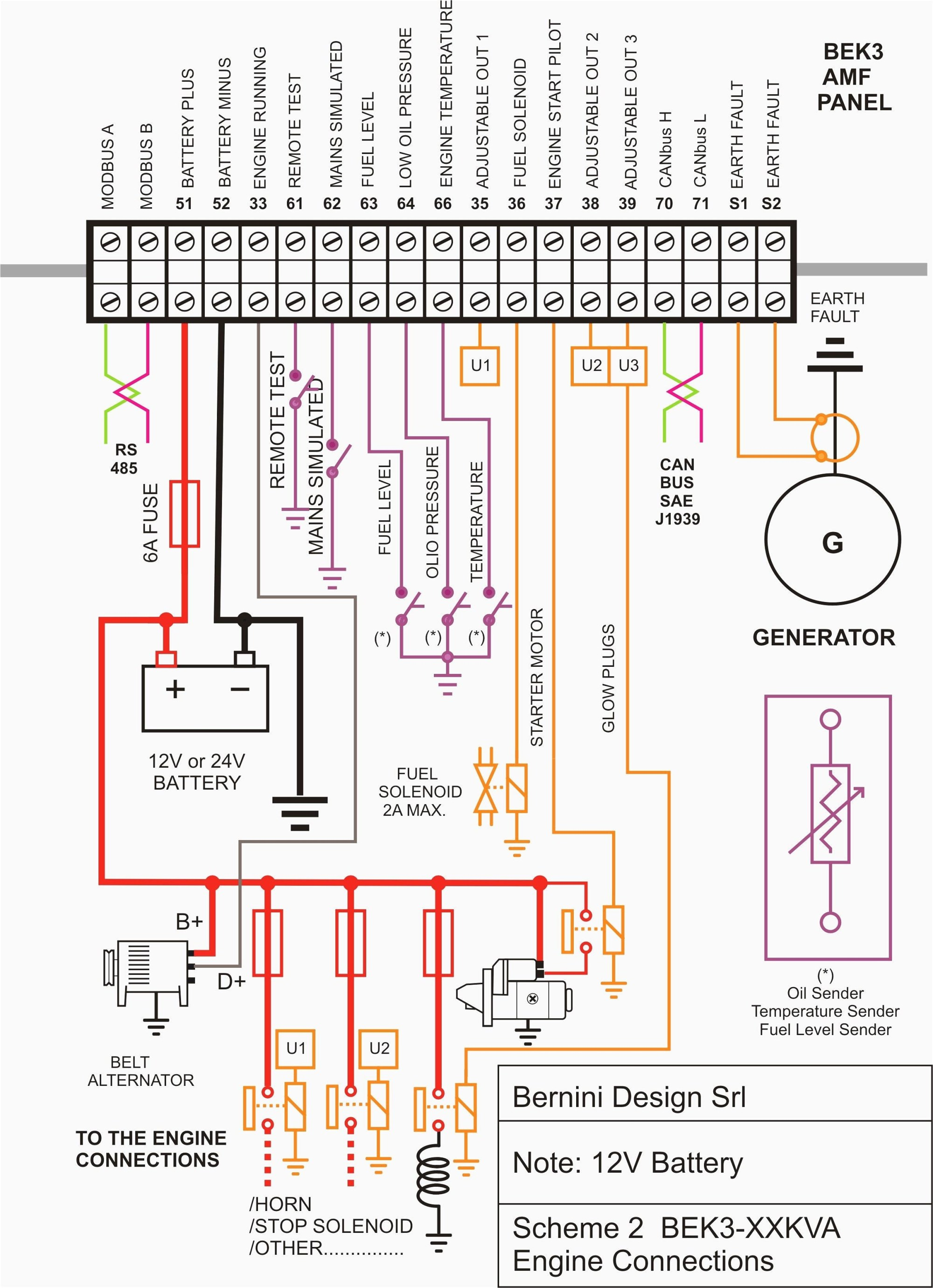 hight resolution of generator wiring diagram and electrical schematics pdf
