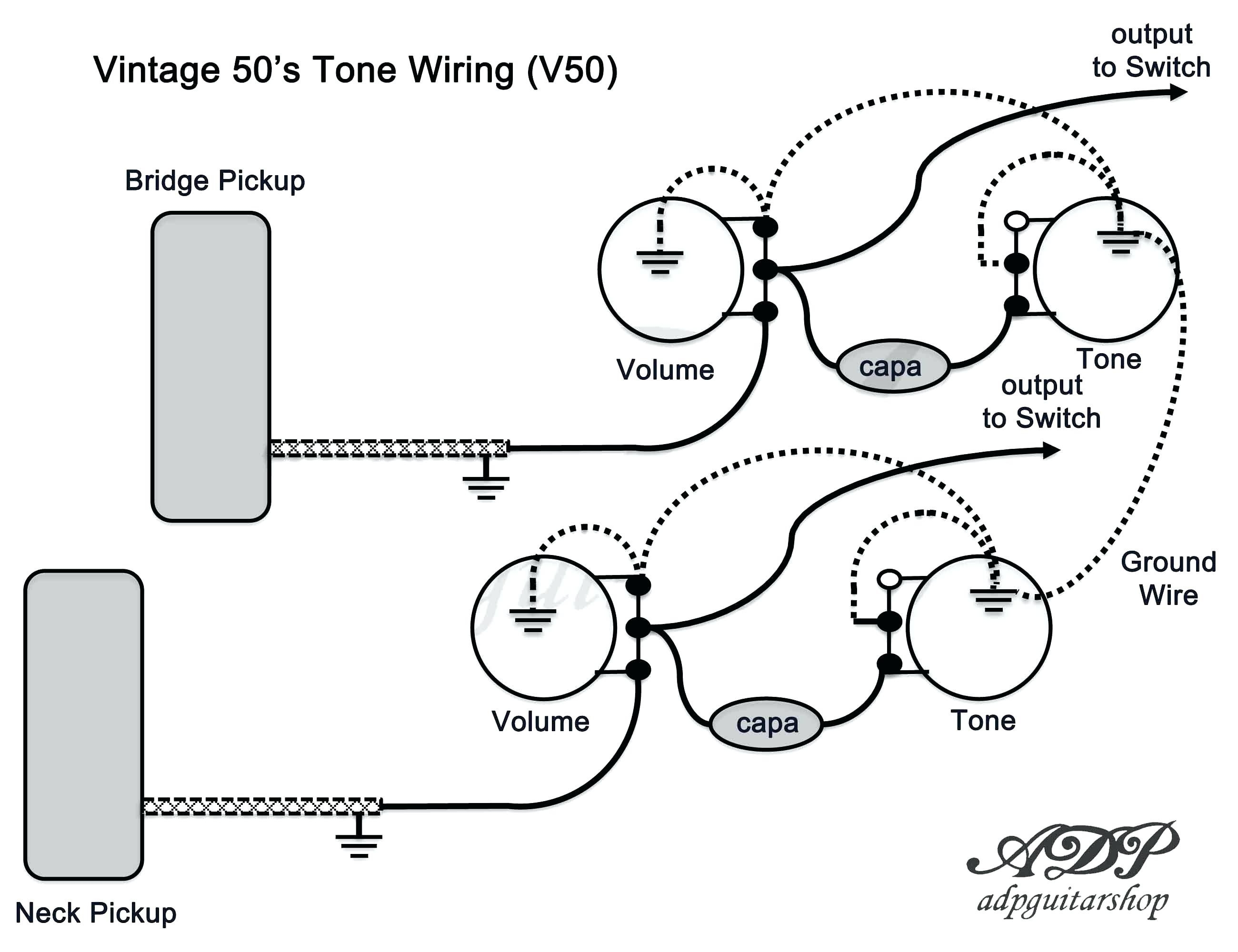 les paul wiring diagram schematics