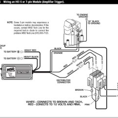 Msd 6al Wiring Diagram Hei Driving Lights Hilux Gm Distributor Schematic Free