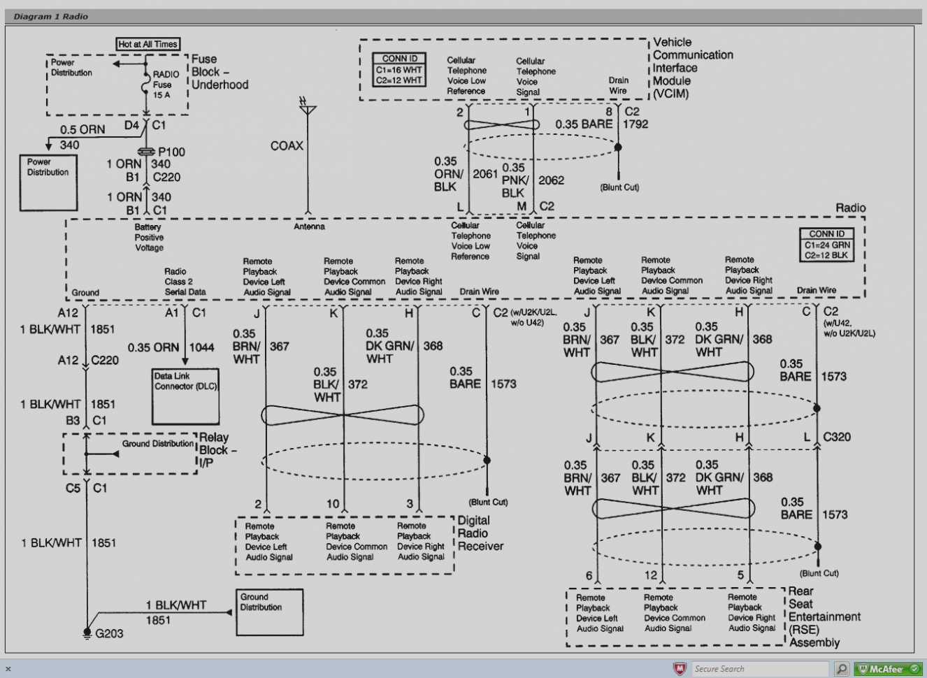 Gmc Sierra Radio Wiring Diagram