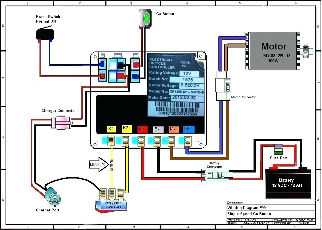 Shoprider Wiring Diagram | Wiring Diagram