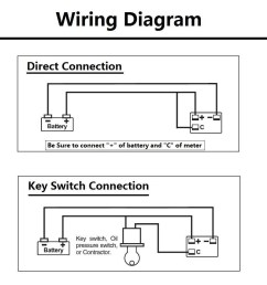 golf cart battery meter wiring diagram wiring a battery guage basic guide wiring diagram  [ 1001 x 1001 Pixel ]