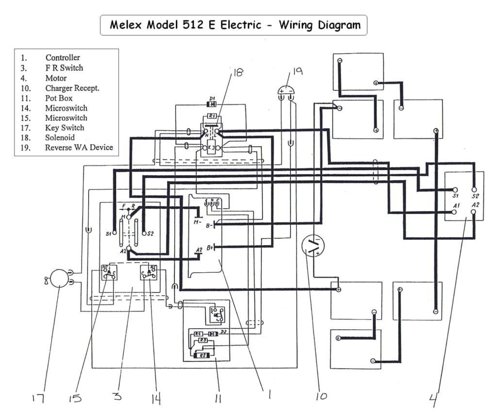 Golf Cart Solenoid Wiring Diagram