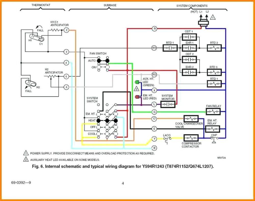 medium resolution of goodman furnace thermostat wiring diagram