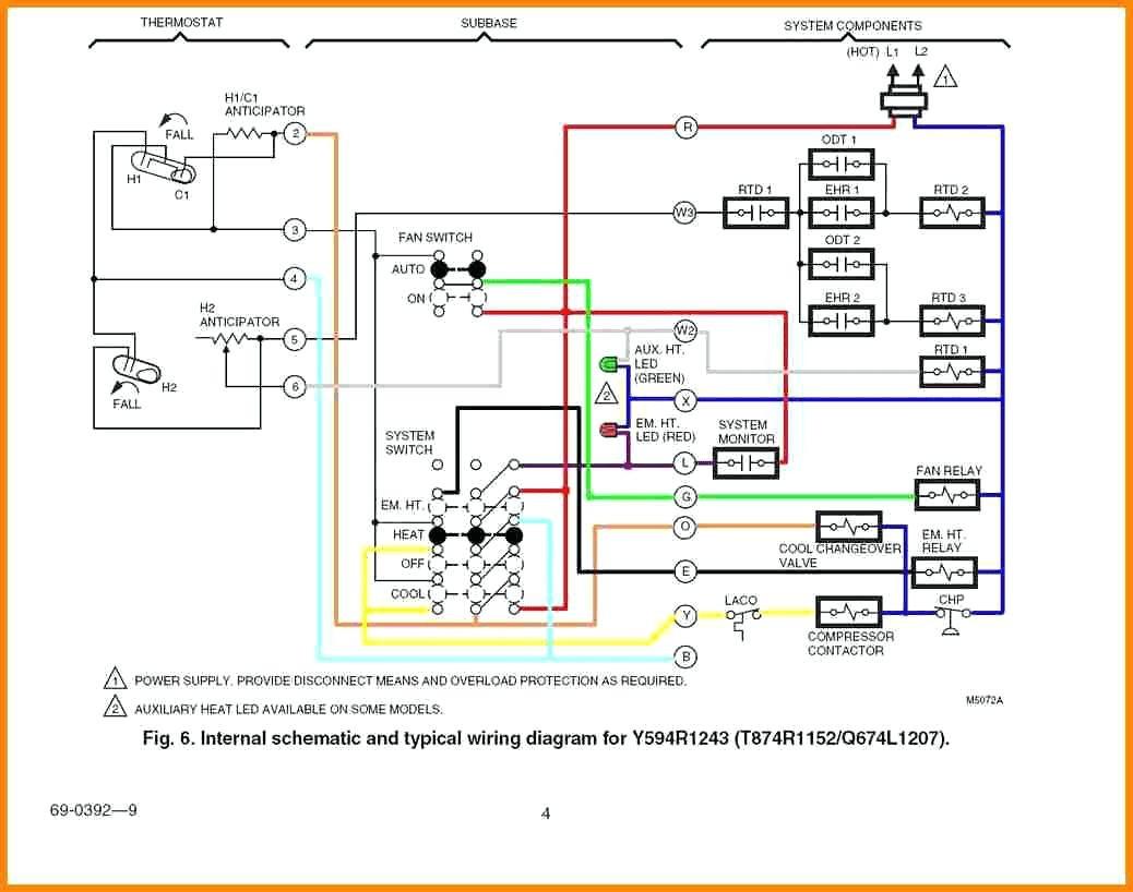 hight resolution of goodman furnace thermostat wiring diagram