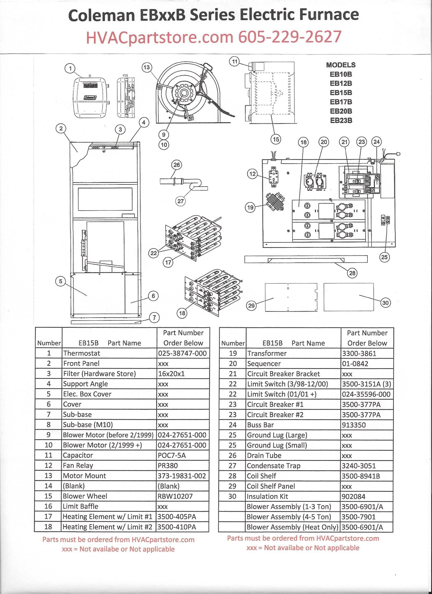 Goodman Part Pcbbf132s Main Circuit Control Board Oem