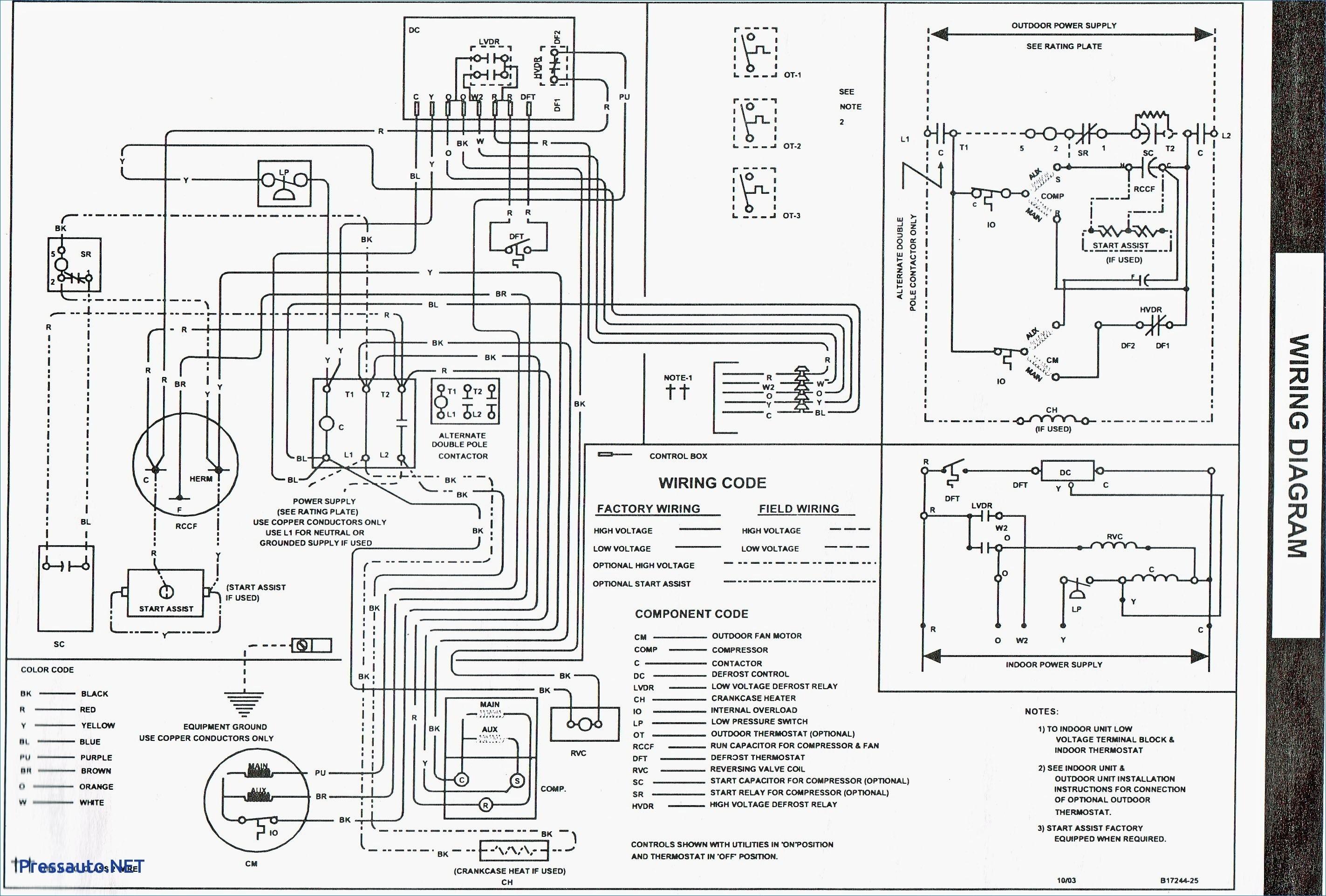 goodman gas furnace diagram
