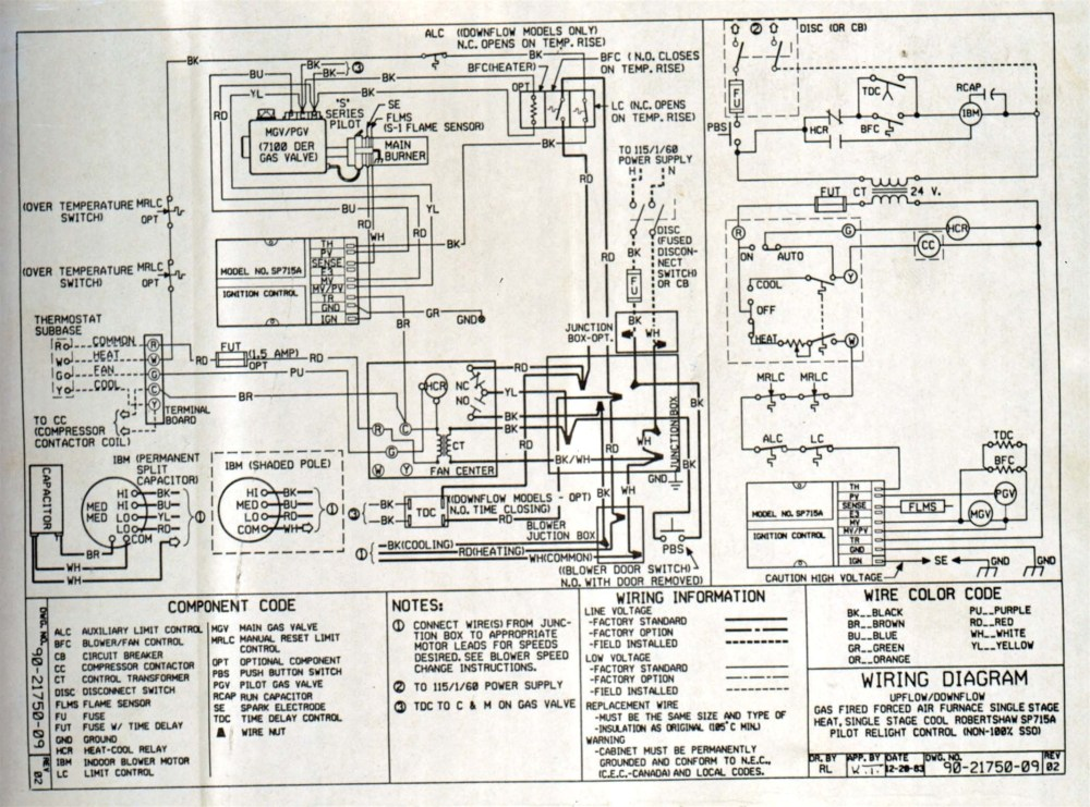 medium resolution of bryant gas furnace schematic diagram of wiring wiring diagram usedbryant 2 stage furnace wiring diagram manual