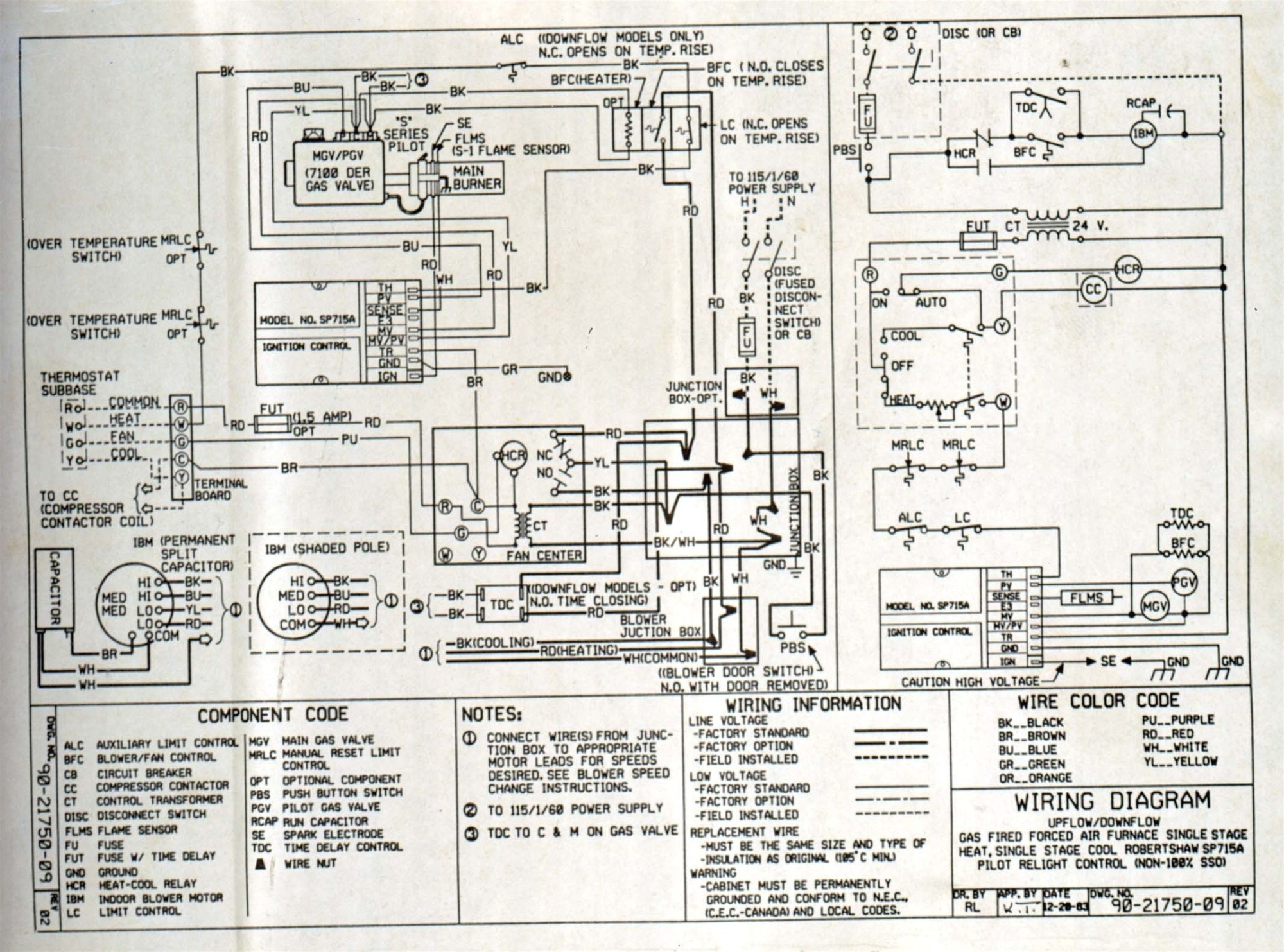 hight resolution of bryant gas furnace schematic diagram of wiring wiring diagram usedbryant 2 stage furnace wiring diagram manual