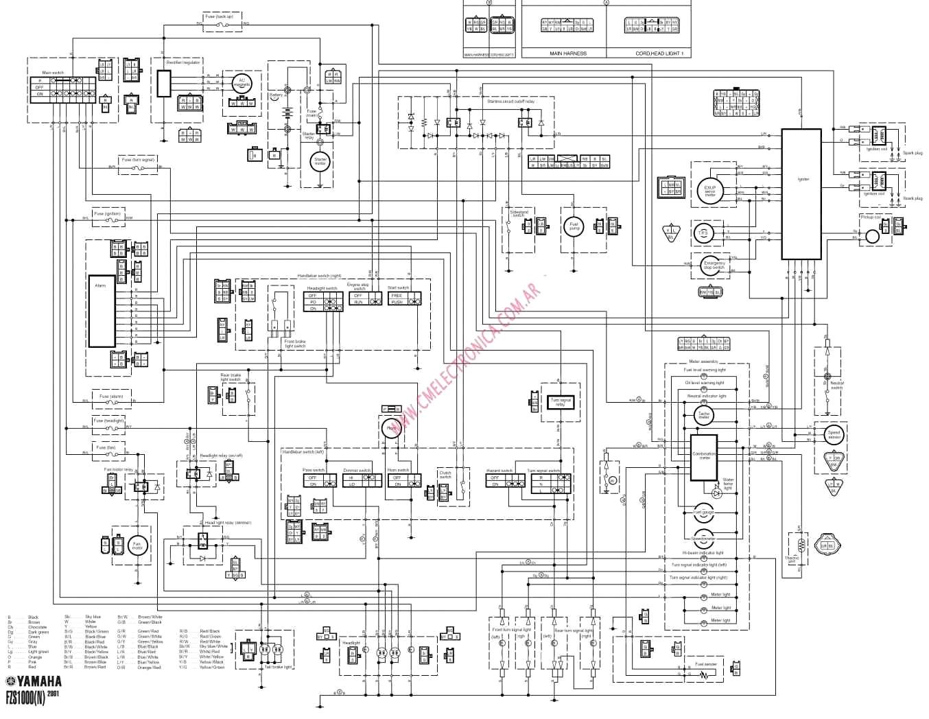 harley vl wiring diagram