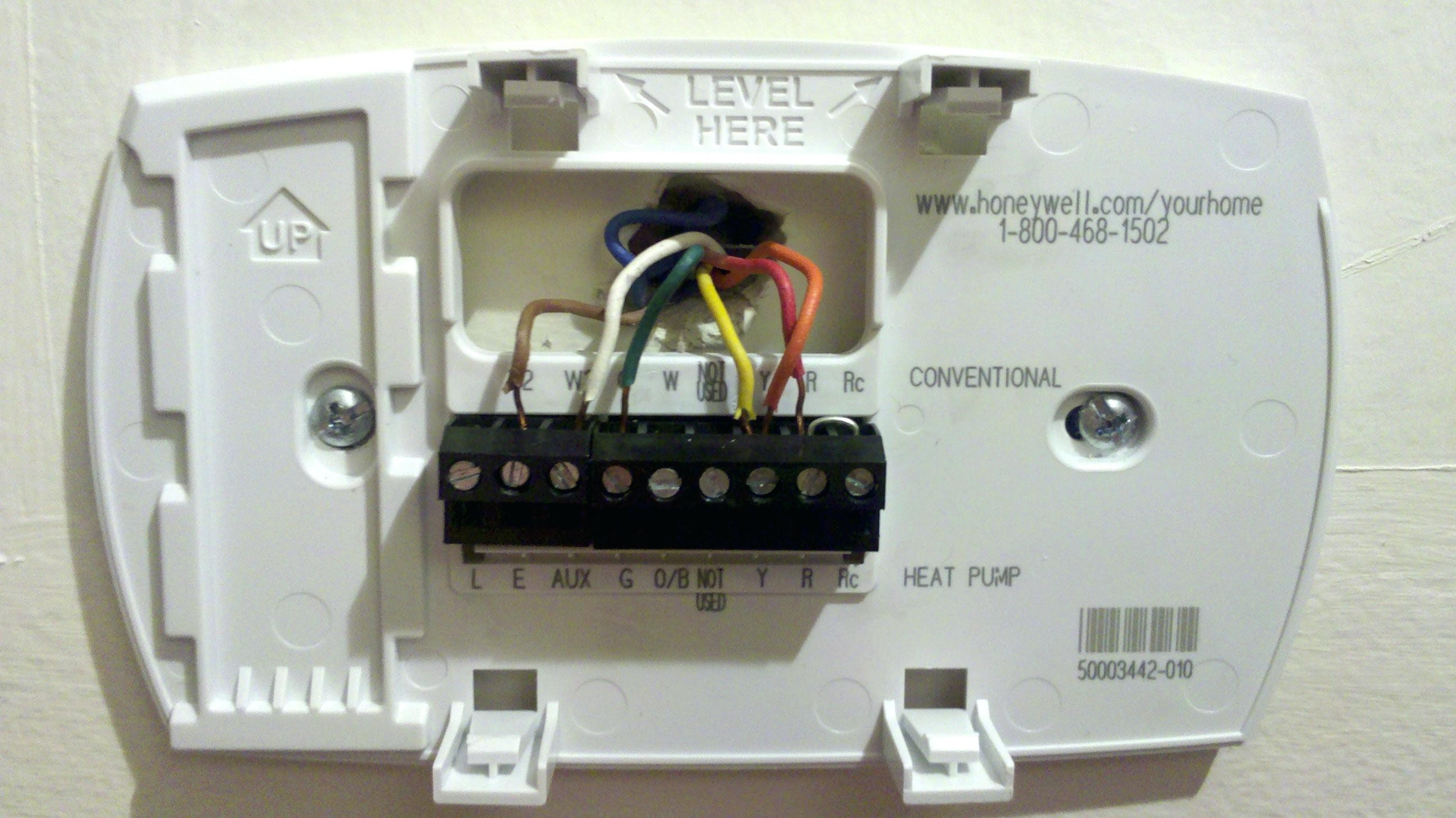 Wiring Diagram For Honeywell Thermostat Th3210d1004