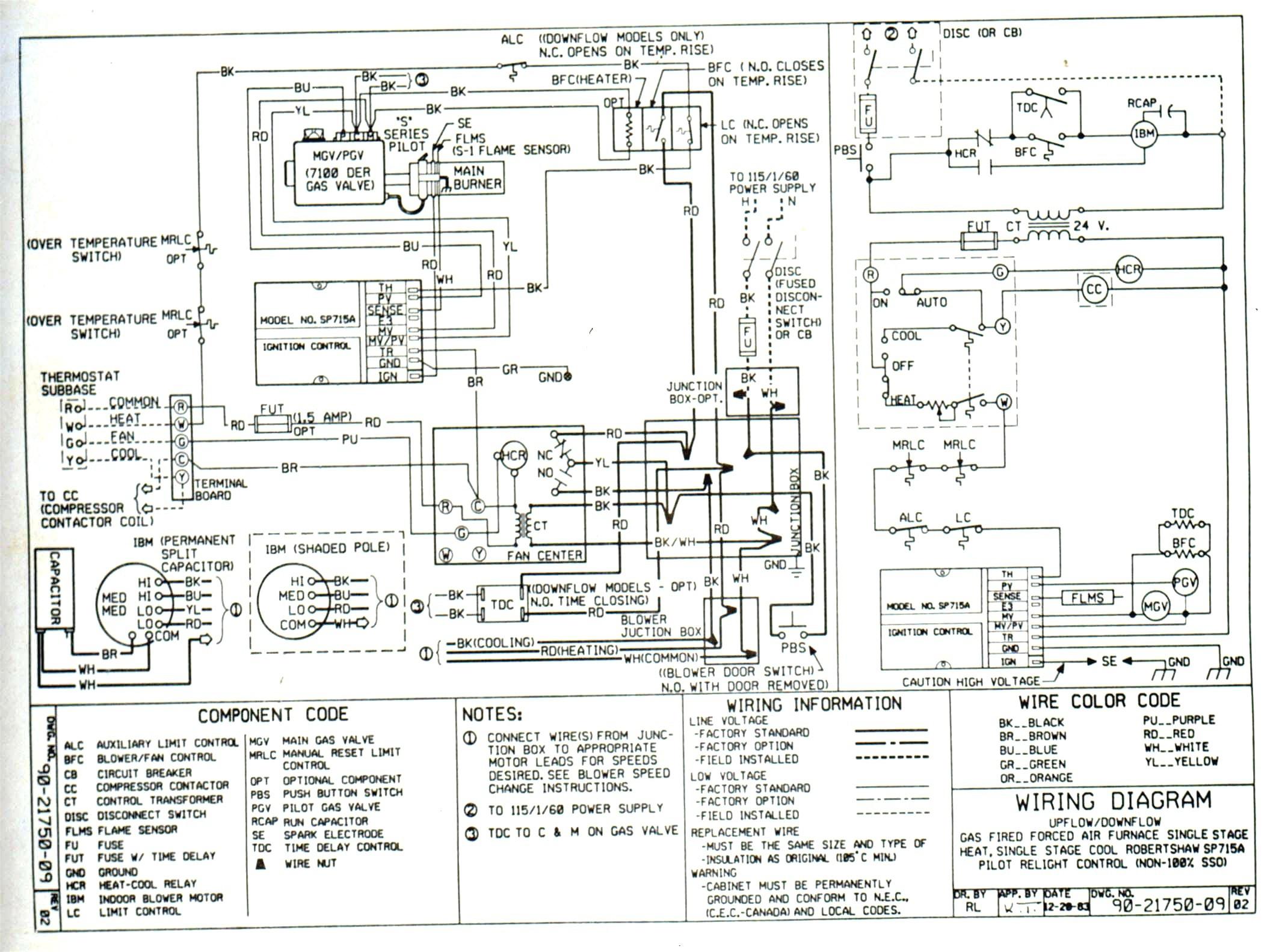 heat pump wiring diagram for ac