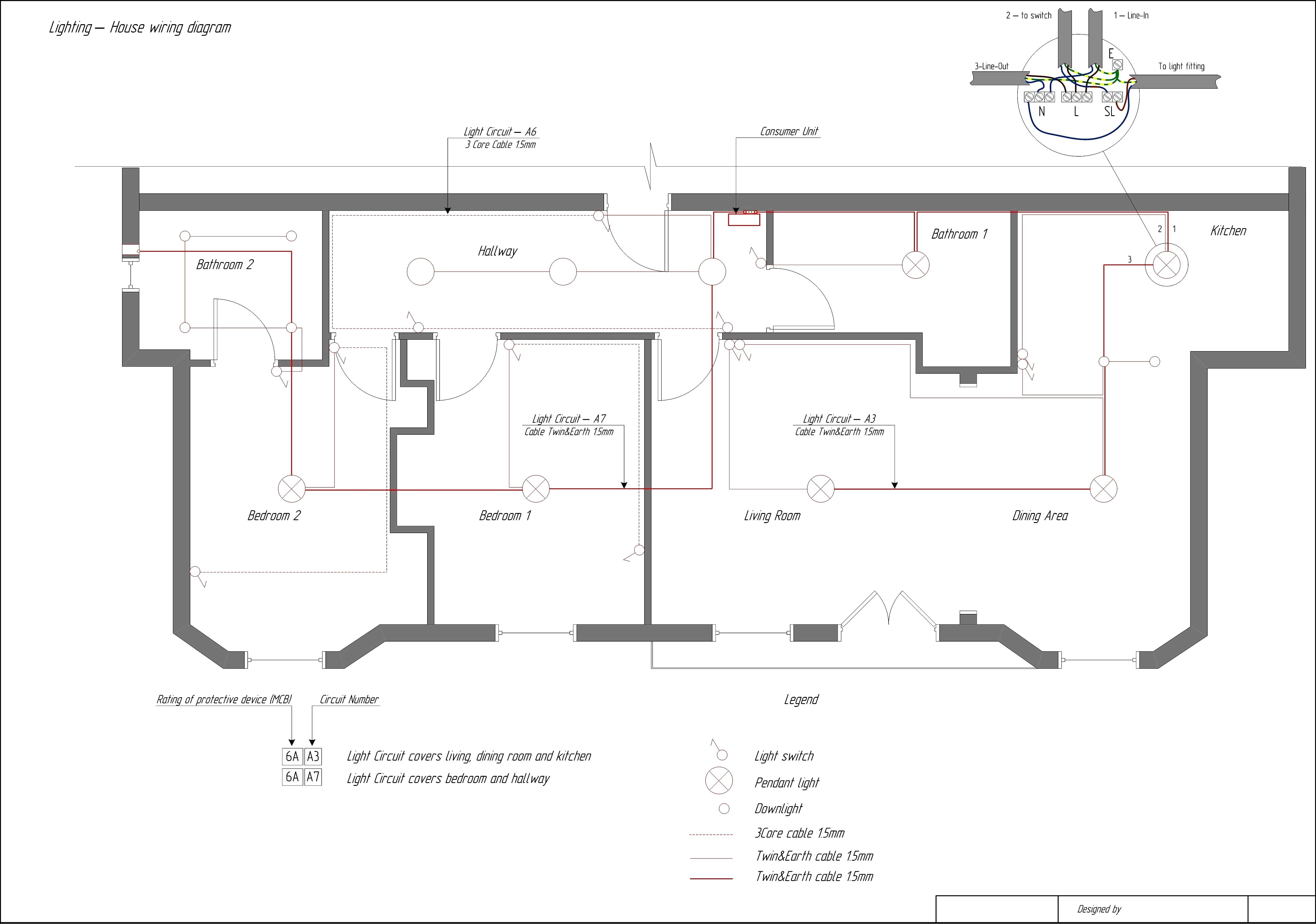 electrical wiring diagram house ppt generator automatic transfer switch home software free of best