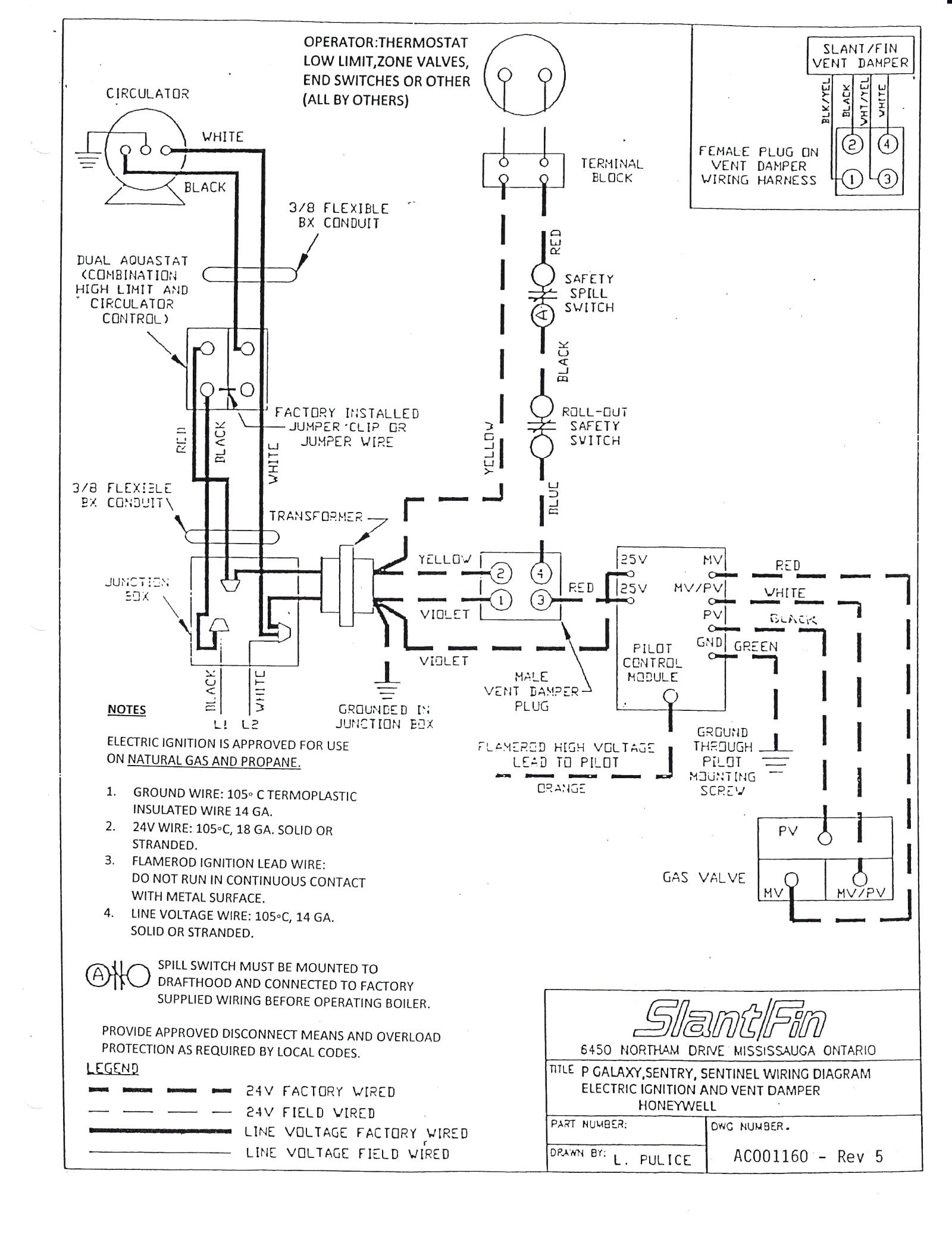 [WRG-8370] Honeywell L8148e Aquastat Wiring Diagram