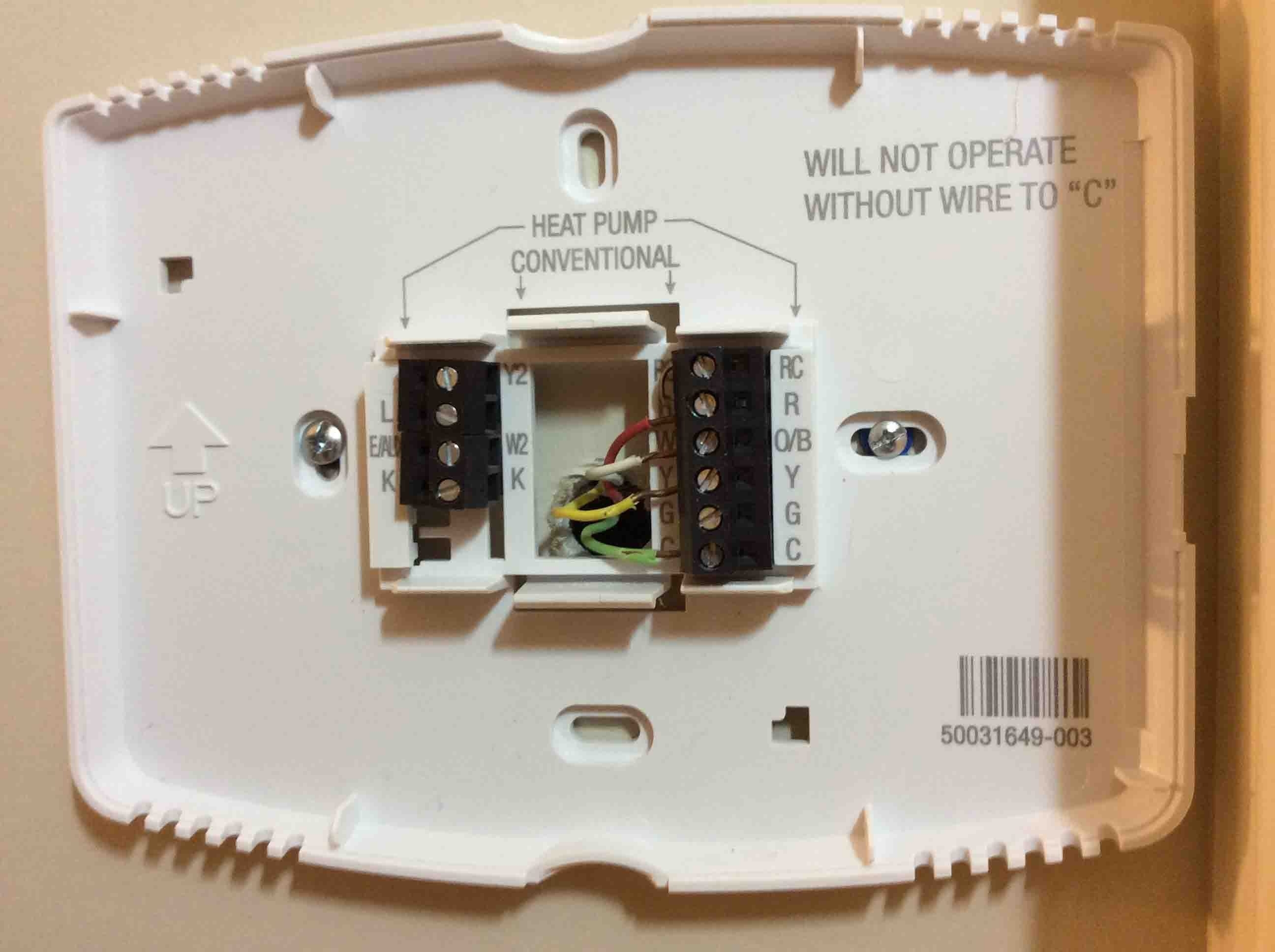Old Honeywell Thermostat Wiring Diagram Q A on