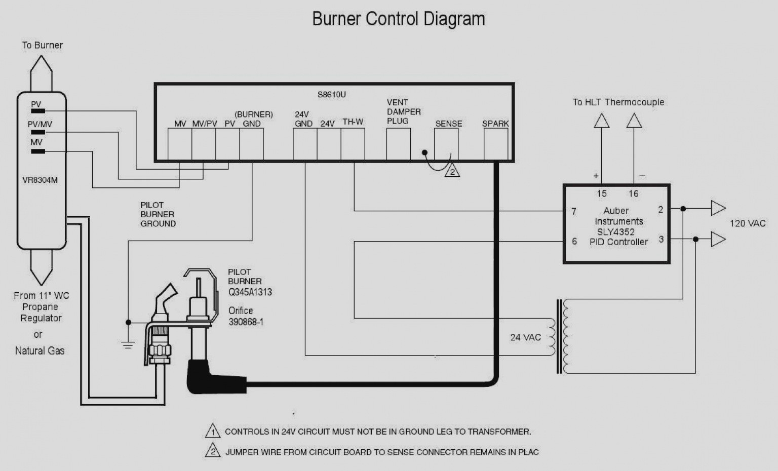 Honeywell Gas Valve Wiring Diagram