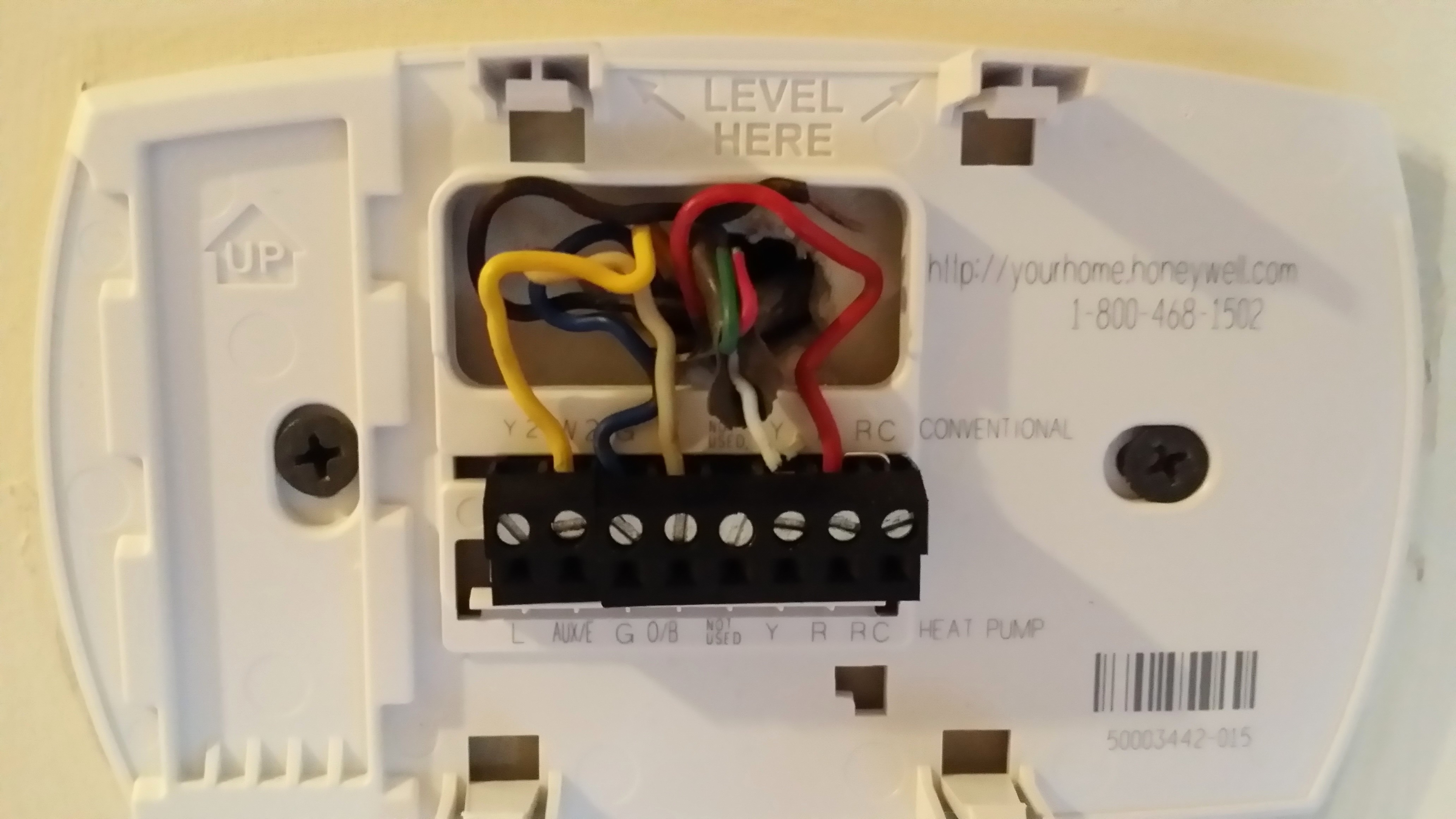 Wiring Honeywell Thermostat Pro 4000 Wiring Circuit Diagrams