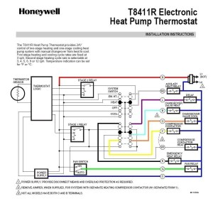 Honeywell Th5220d1003 Wiring Diagram | Free Wiring Diagram