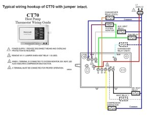 Honeywell thermostat Ct87n Wiring Diagram | Free Wiring