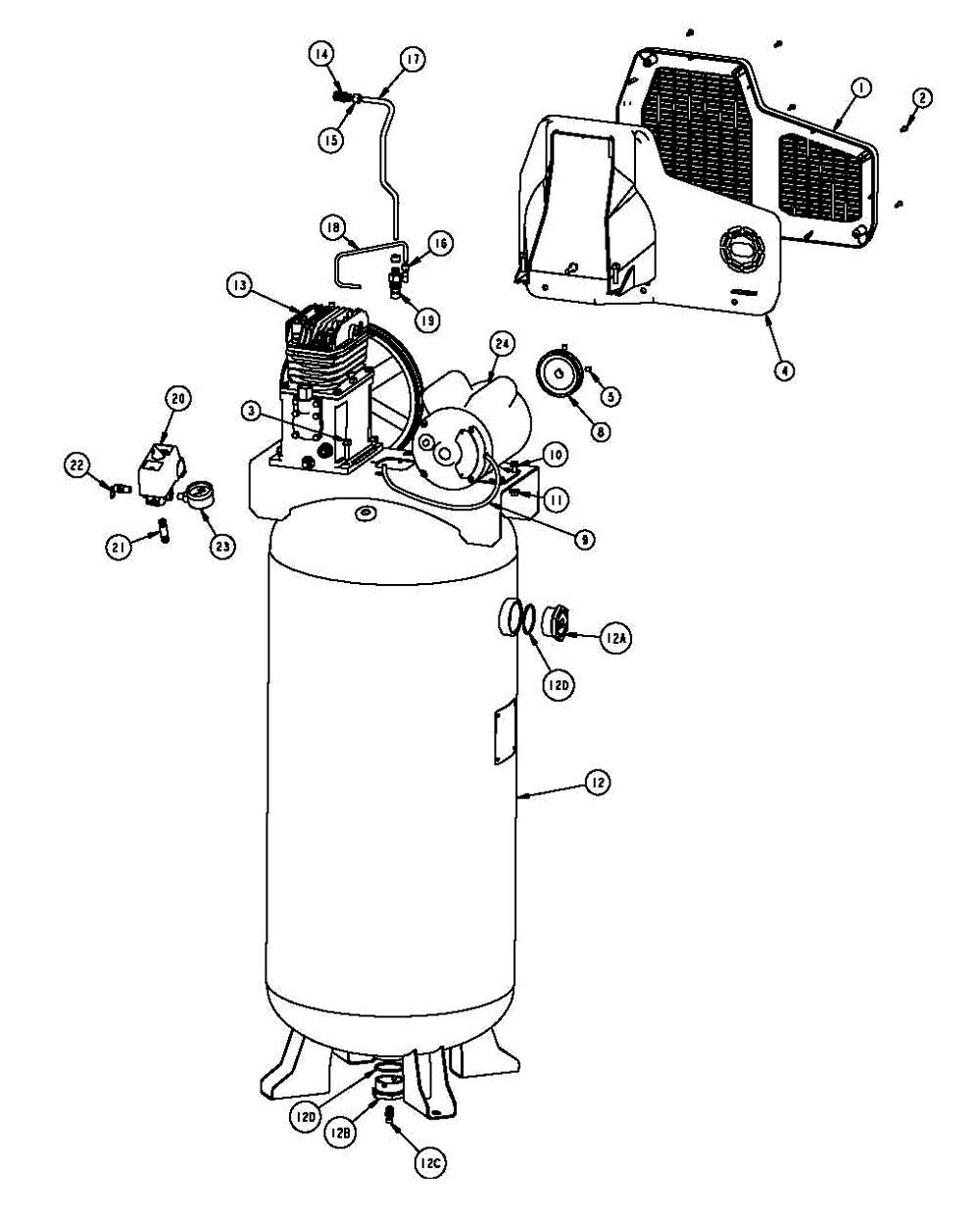 [DIAGRAM] 110v Airpressor Wiring Diagram FULL Version HD