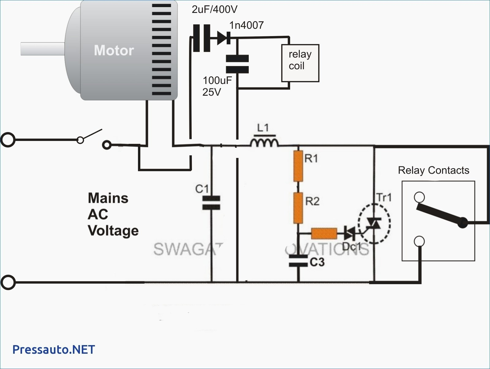 Wiring Diagram Of Three Phase Motor