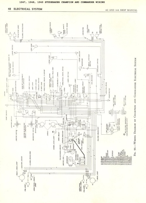 small resolution of international truck wiring diagram 1947 1948 1949 champion and mander 5k