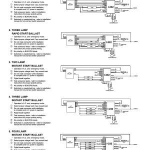 Iota Emergency Ballast Wiring Diagram | Free Wiring Diagram