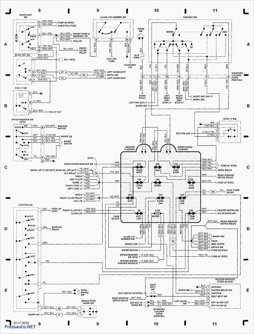 medium resolution of jeep yj wiring diagram