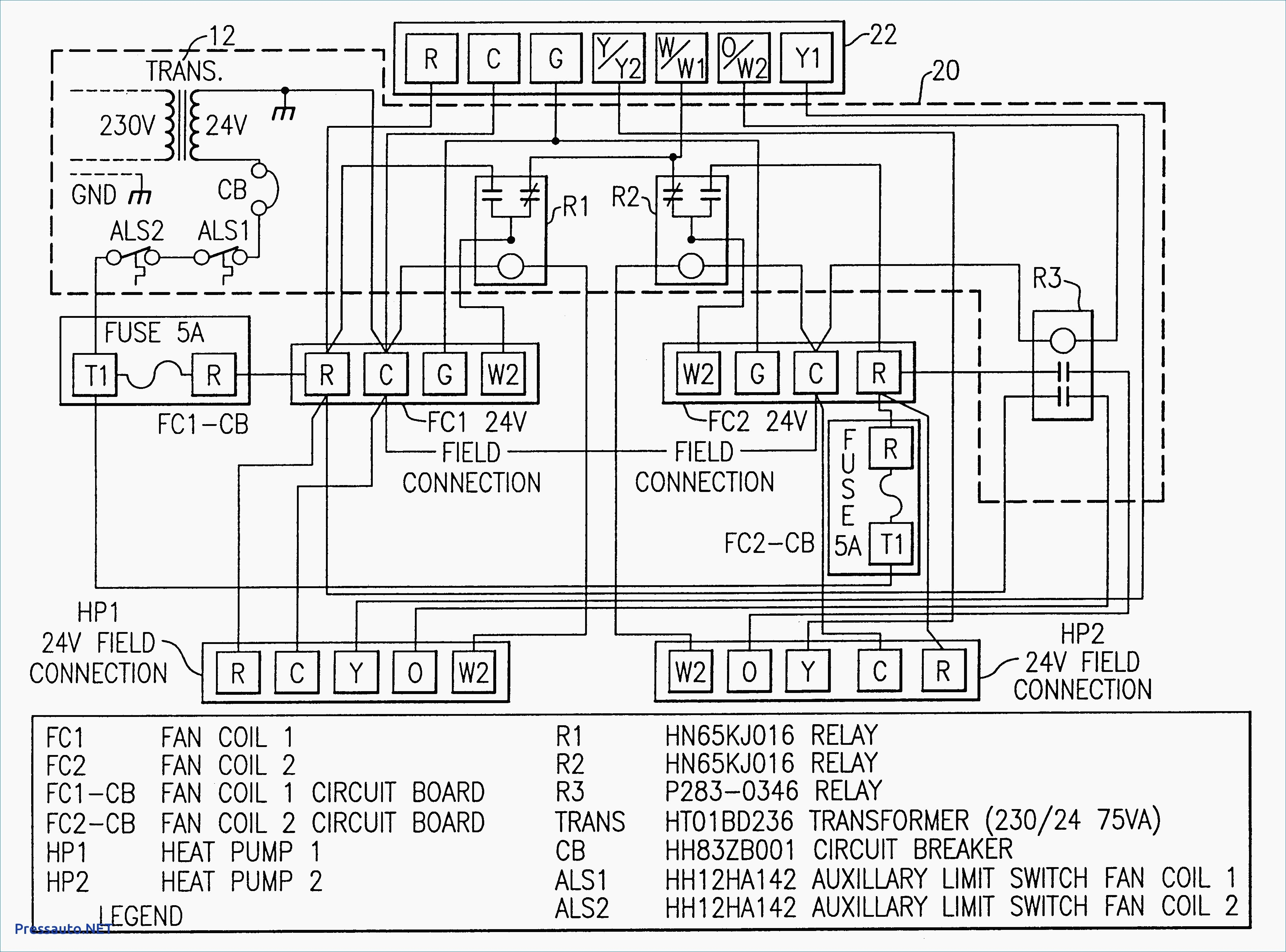 hammond transformer wiring diagram