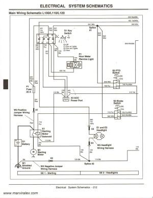 John Deere L110 Wiring Schematic   Free Wiring Diagram