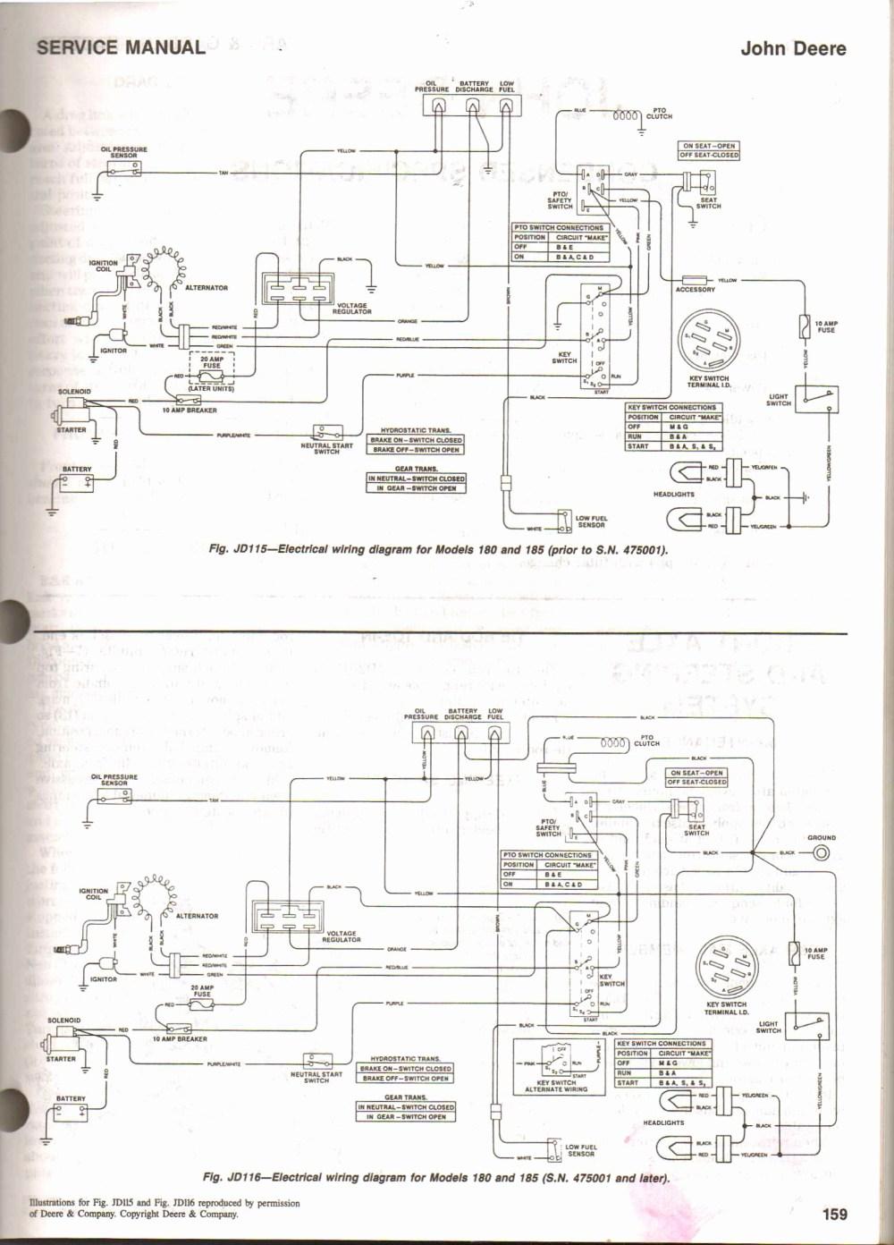 medium resolution of john deere l130 wiring diagram john deere d105 parts diagram for john deere l130 wiring