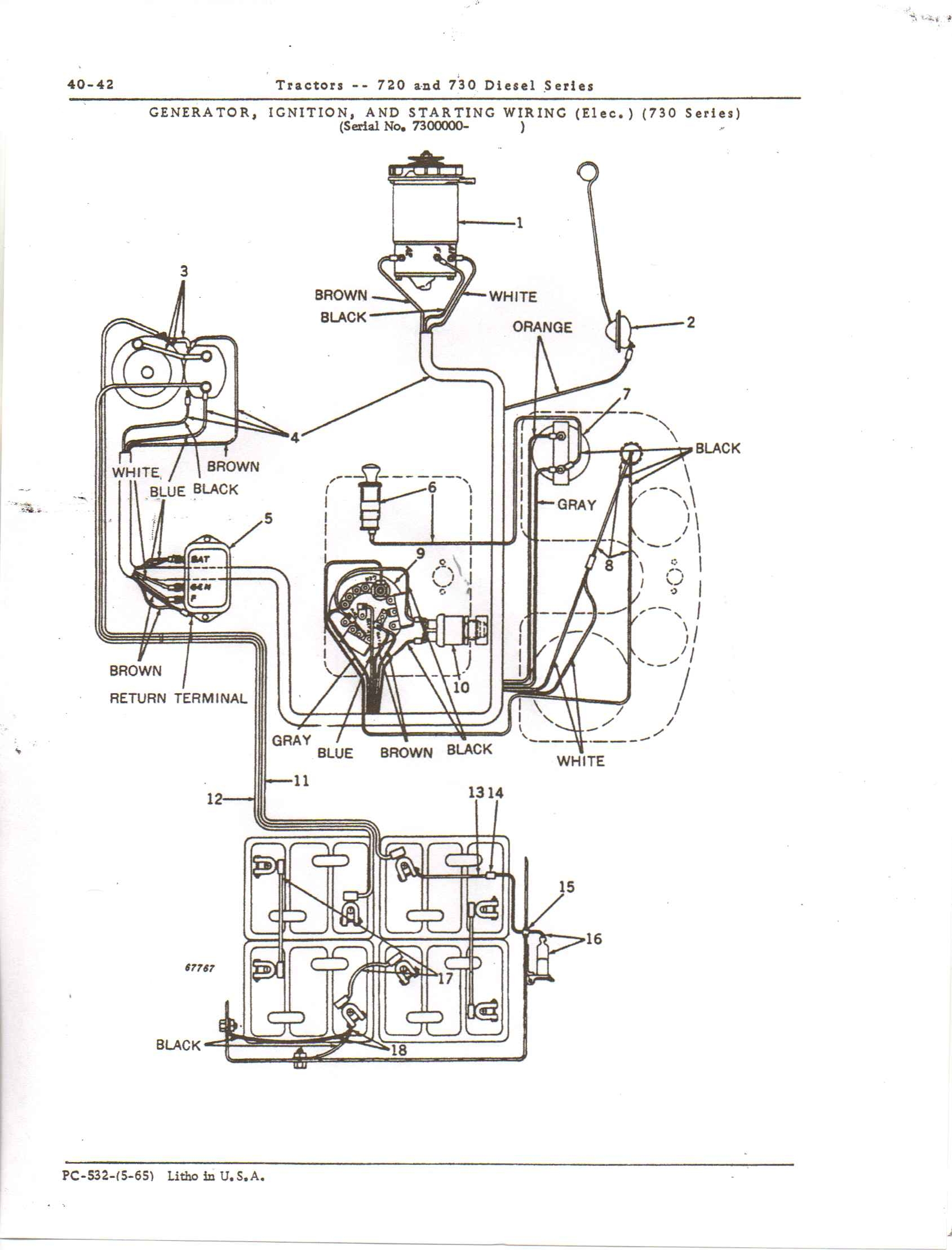 4230 John Deere Wiring Diagram | Wiring Schematic Diagram ... Jd Starter Wiring Diagram on jd 4230 tractor, mf 165 wiring diagram, ih super a wiring diagram, ford 3000 wiring diagram,