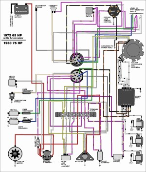 Johnson Outboard Ignition Switch Wiring Diagram | Free