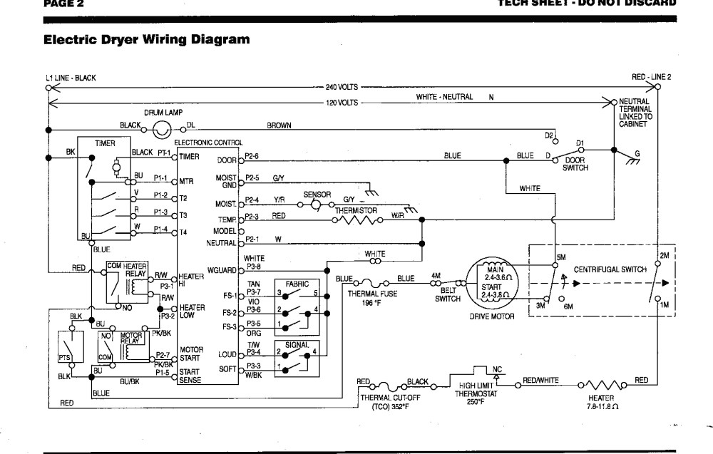 medium resolution of kenmore dryer thermostat wiring diagram