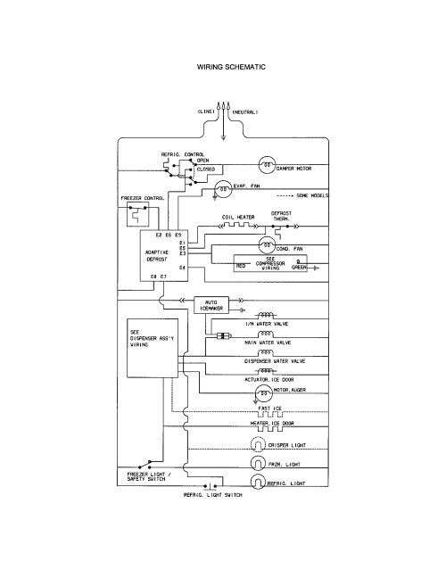 small resolution of kenmore refrigerator wiring schematic full size of wiring diagram kenmore side by refrigerator parts model