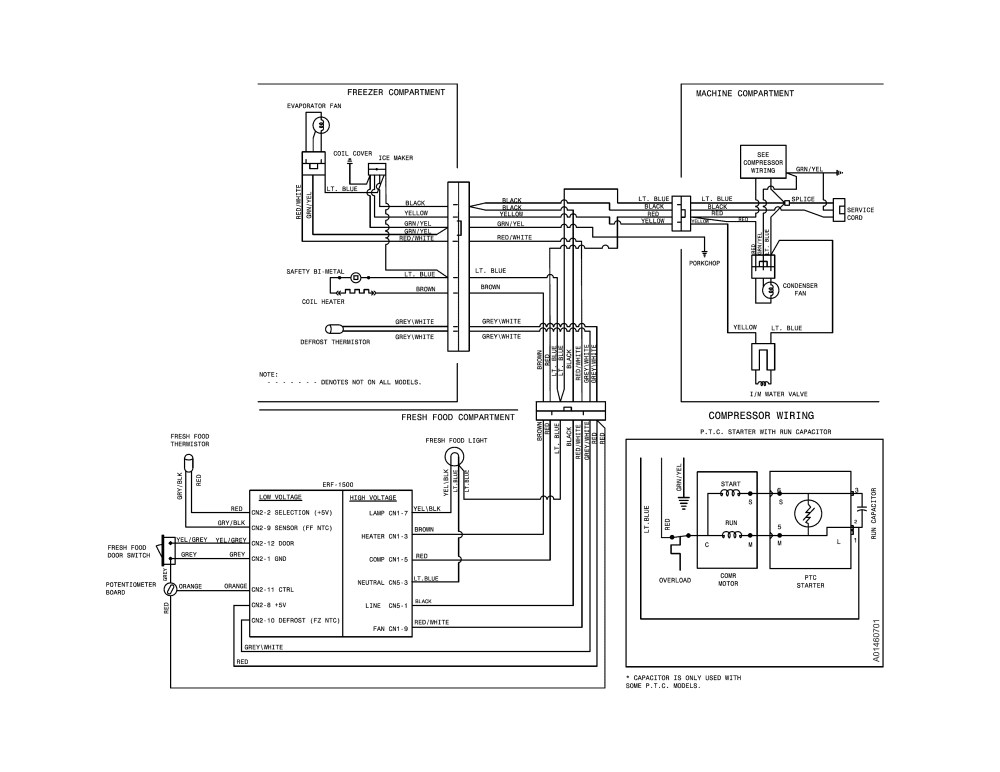 medium resolution of kenmore refrigerator wiring schematic