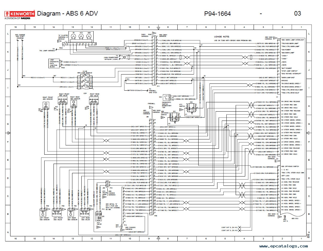 Demag Wiring Diagram - on