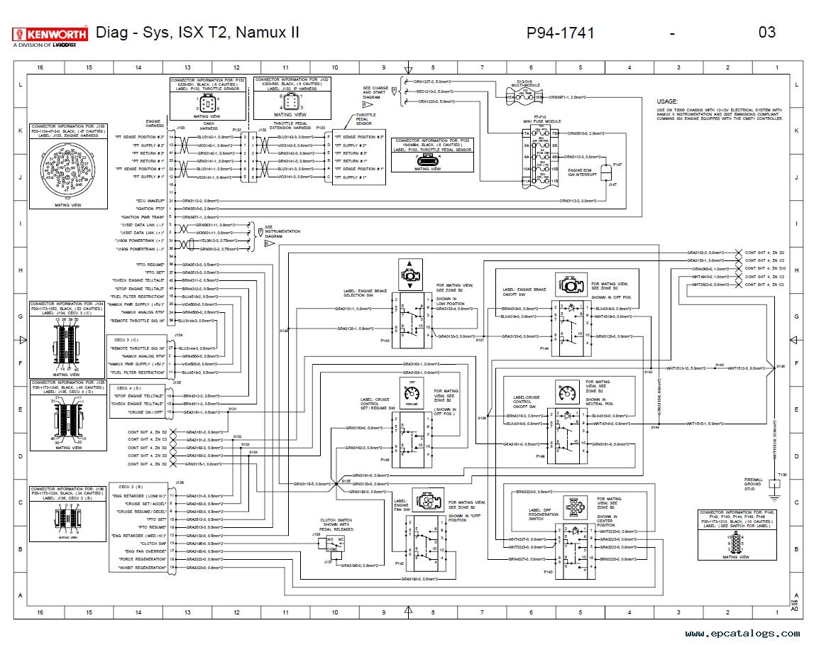 hight resolution of kenworth wiring diagram pdf kenworth t2000 electrical wiring diagram manual pdf repair enlarge clark dt