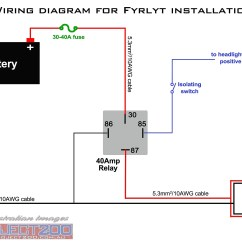 Bosch 12v Alternator Wiring Diagram Audio 12 Volt Relay Diagrams Schematic 87a 5 Blade 87
