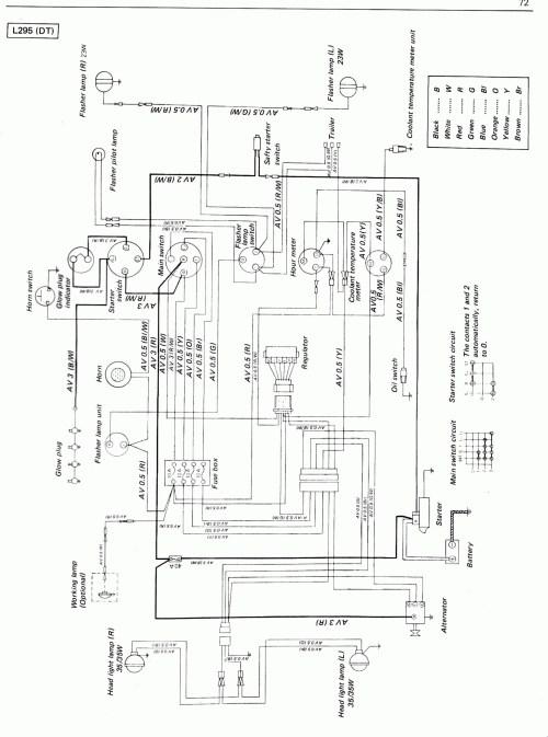 Kubotum Generator Wiring Diagram