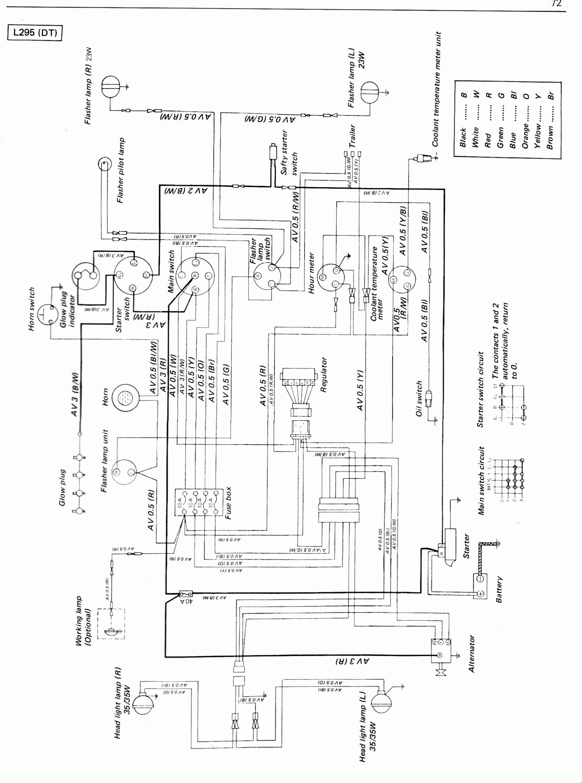 kubota gr1600 wiring diagram