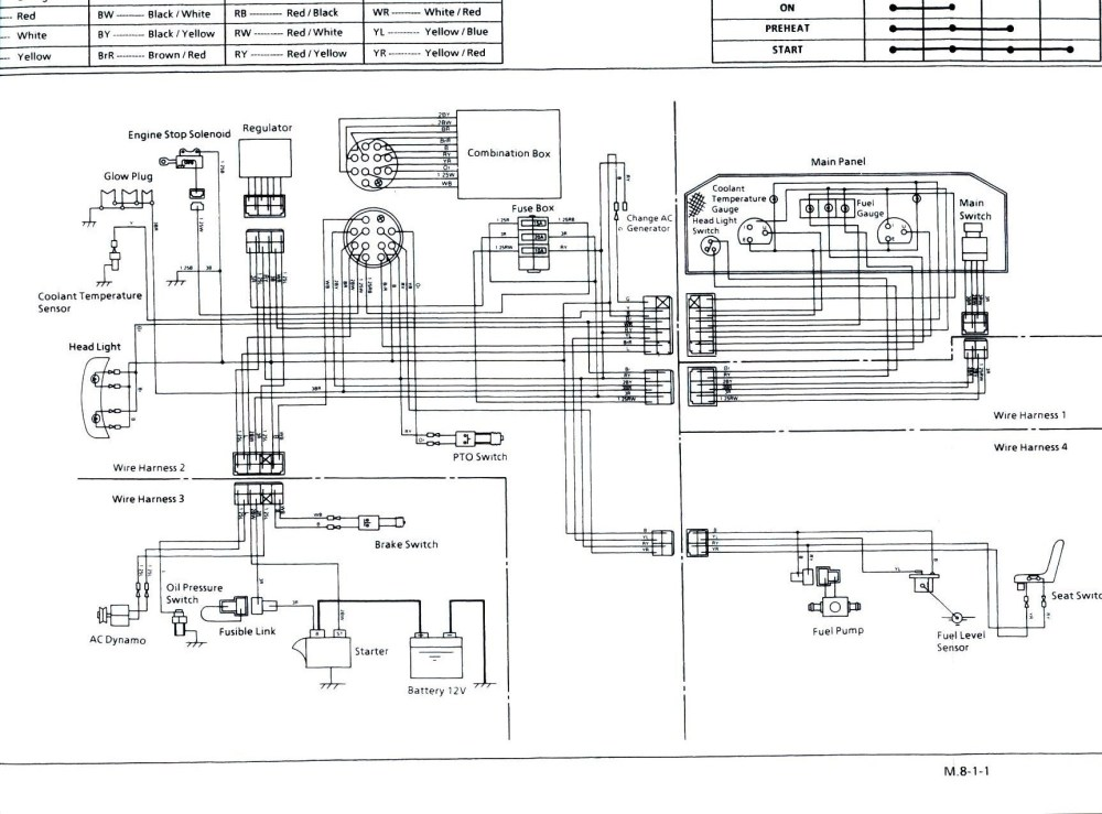 medium resolution of wiring diagram for kubota bx2200 free download wiring diagram basic kubota tractor ignition switch wiring diagram