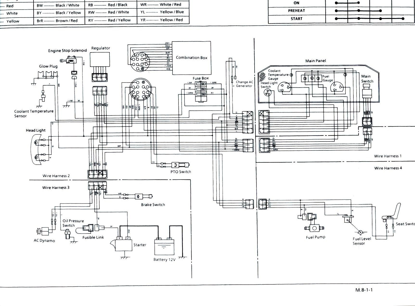 hight resolution of wiring diagram for kubota bx2200 free download wiring diagram basic kubota tractor ignition switch wiring diagram