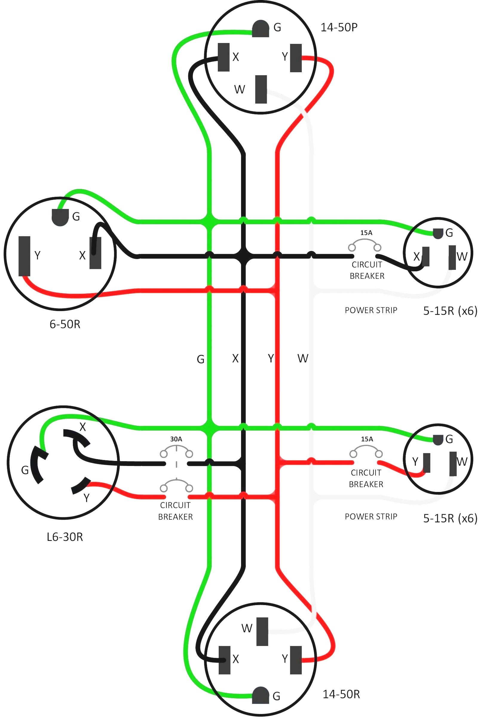 Nema Receptacle Wiring Diagram As Well Nema 6 20p Wiring Diagram