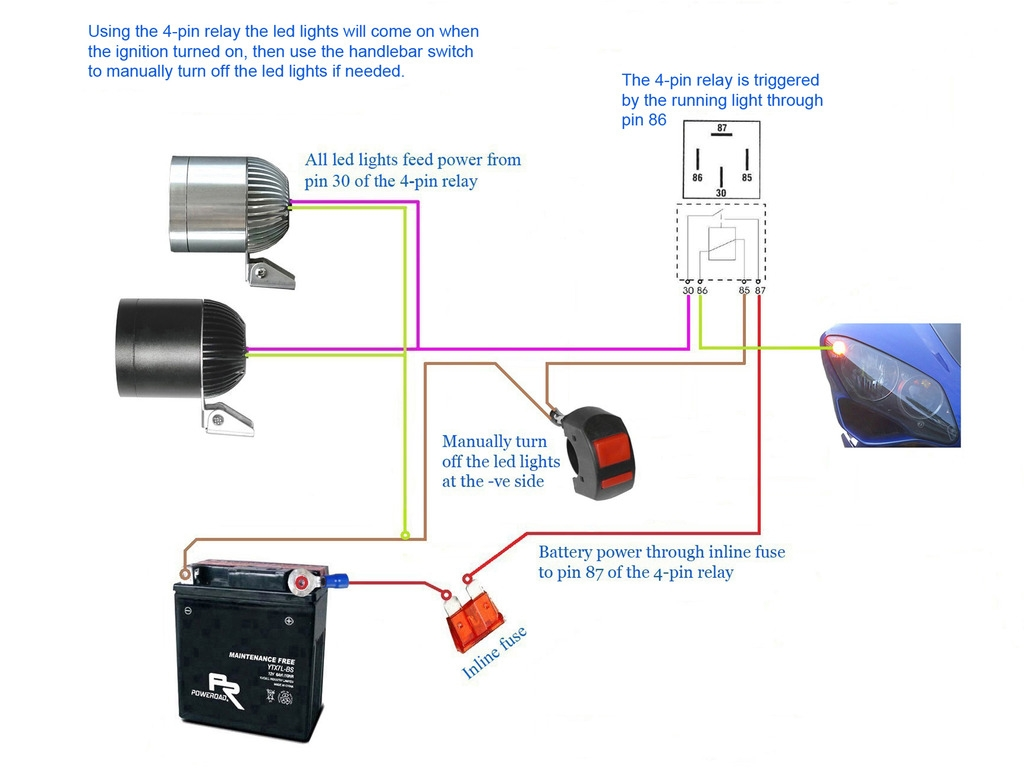 Narva Led Lights Wiring Diagram
