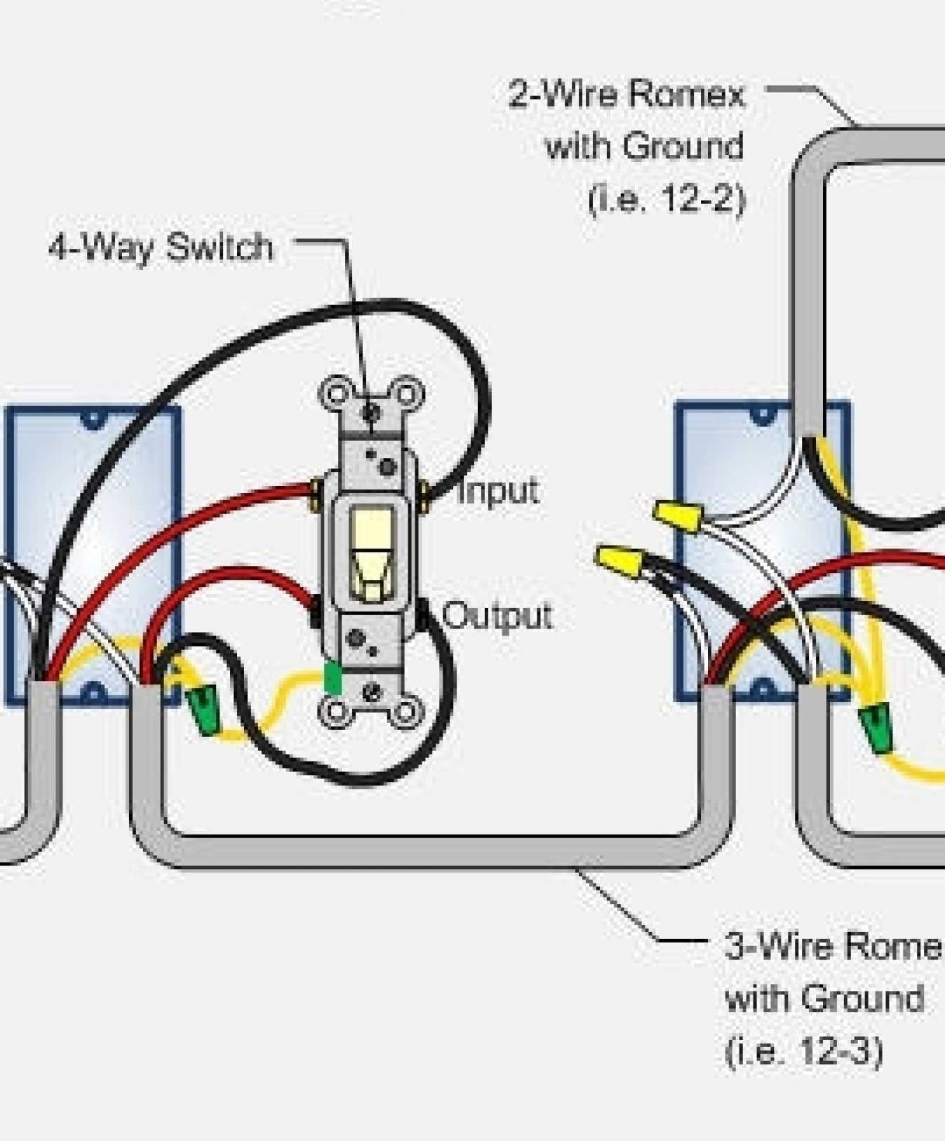 Wiring Diagram For 3 Way Switch Two LightsWiring Diagram