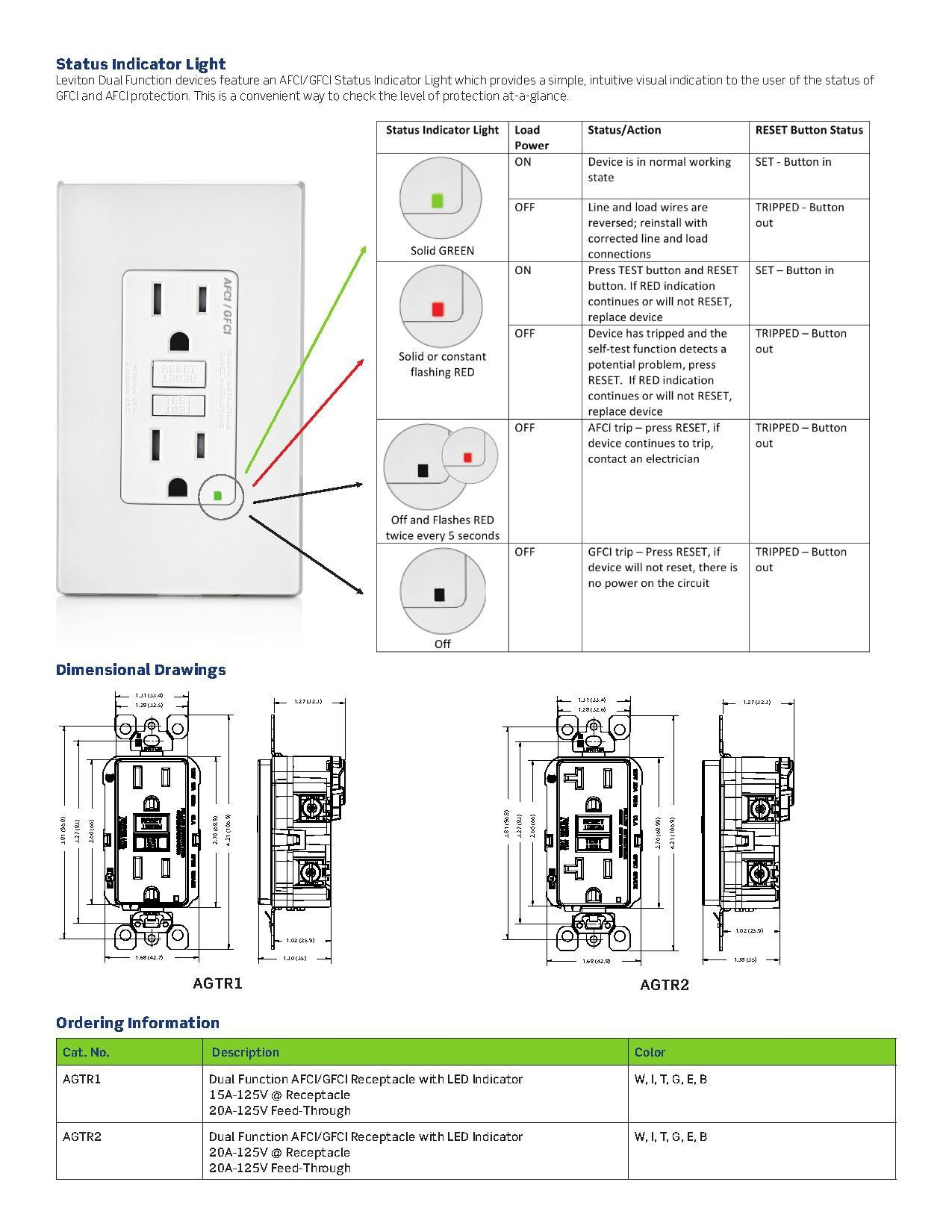hight resolution of leviton gfci receptacle wiring diagram