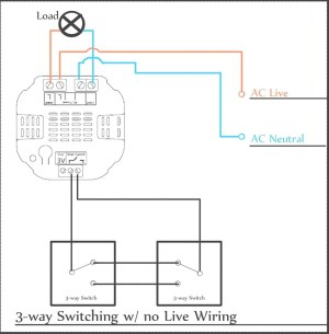 Leviton Three Way Dimmer Switch Wiring Diagram | Free