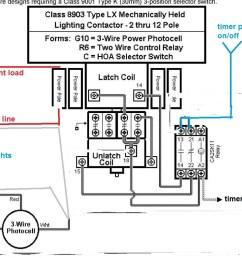 lighting contactor wiring diagram [ 990 x 815 Pixel ]