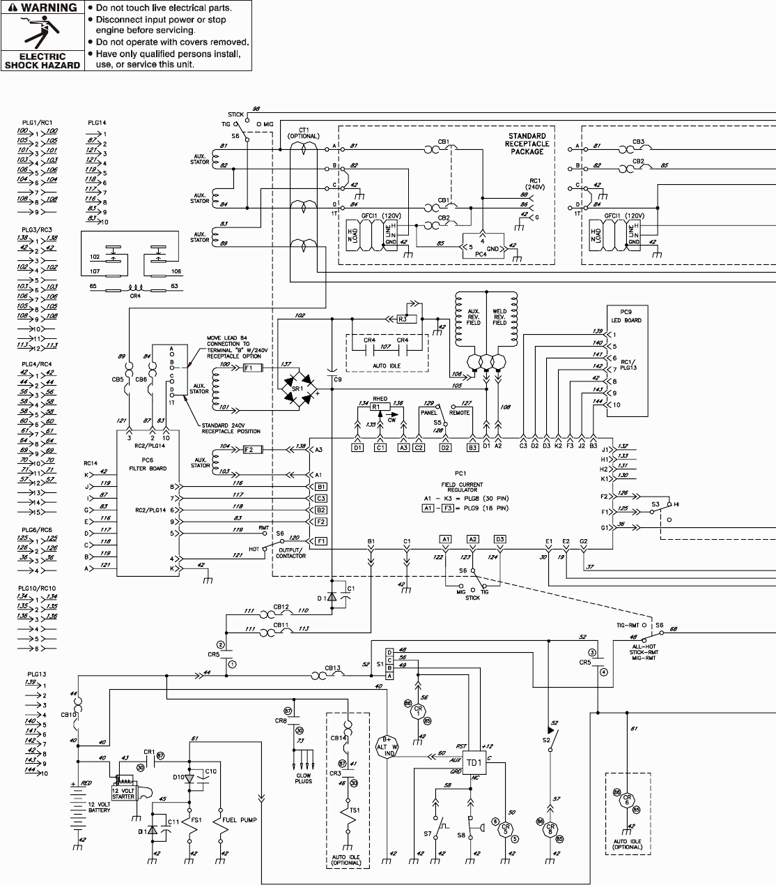 Welding Switching Schematic
